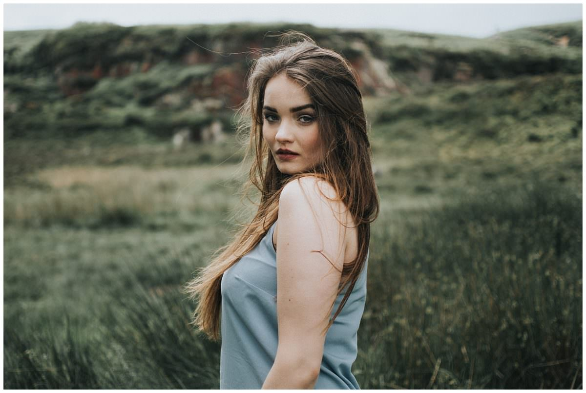 Ilkey Moor portrait session