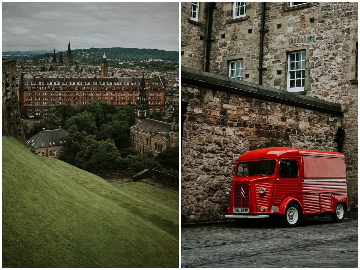 Edinburgh castle photography
