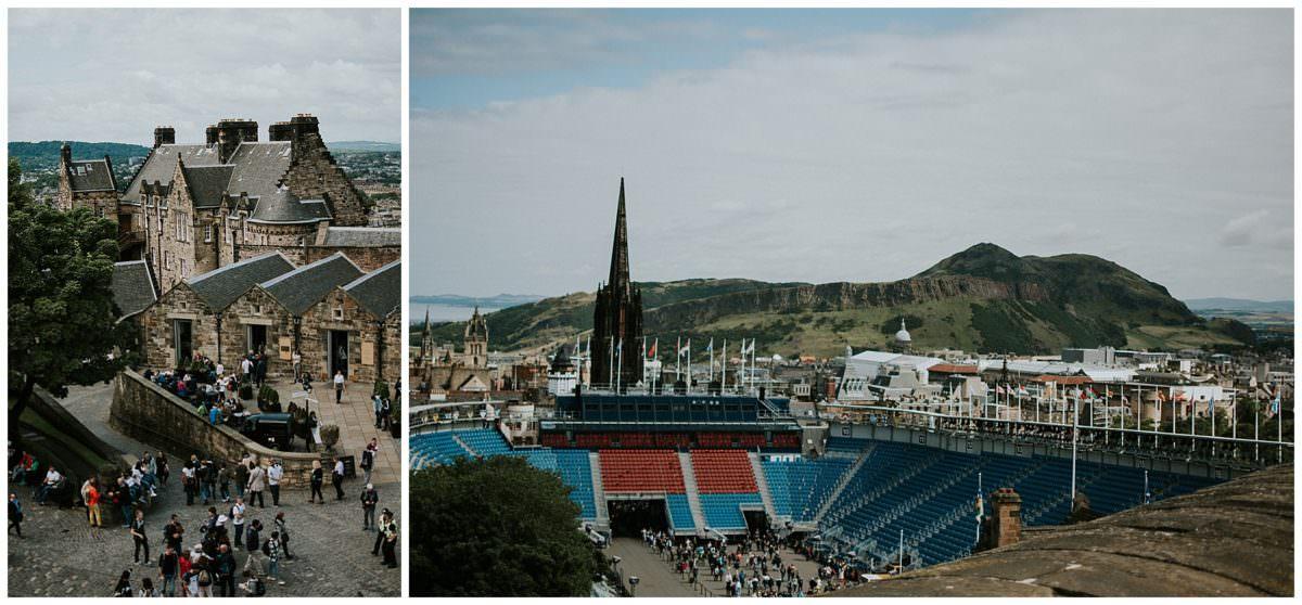 Edinburgh castle photographer
