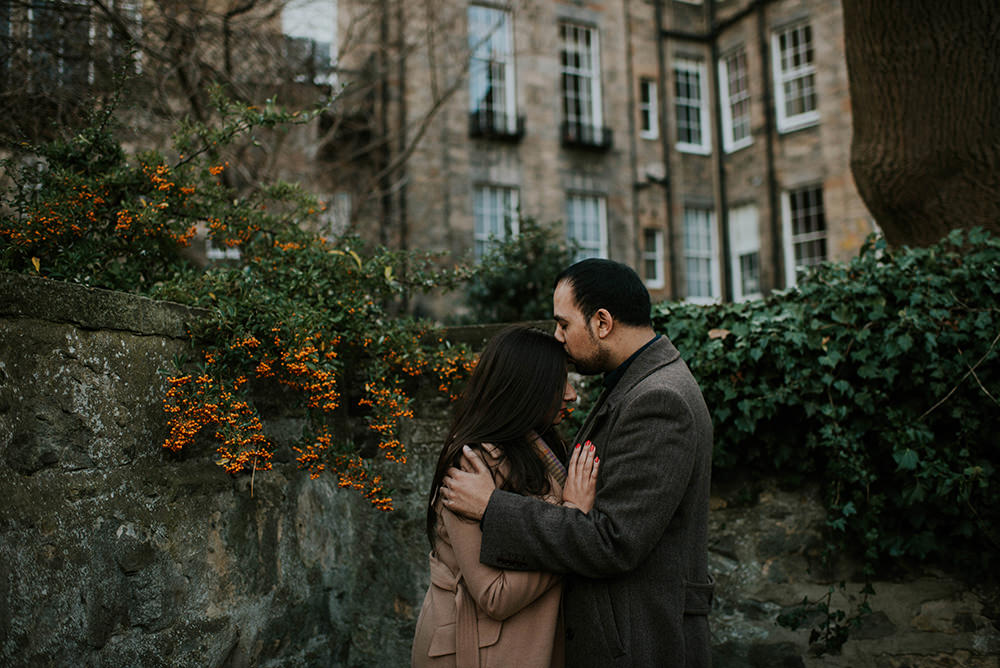 Stockbridge engagement photoshoot - Edinburgh photographer