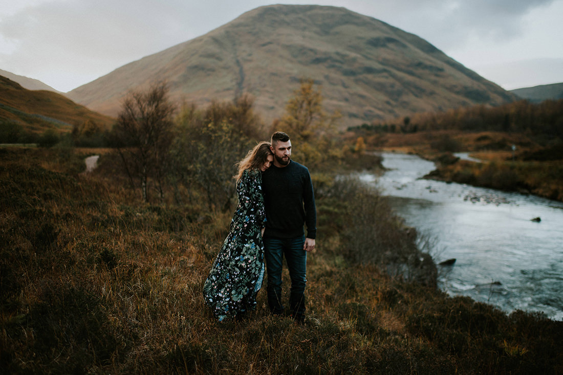 Glencoe engagement session - Edinburgh Scotland photographer