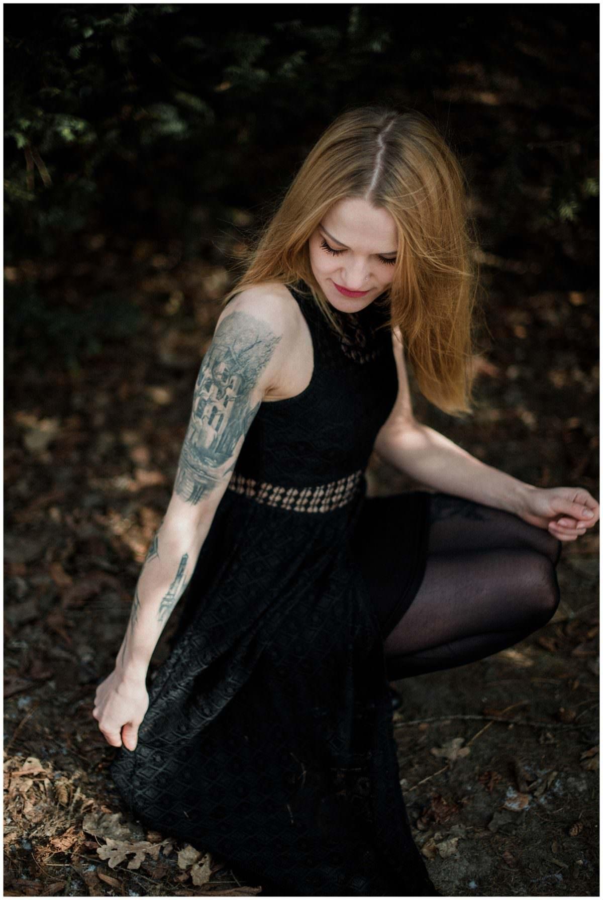 Tattoo artist portrait photoshoot