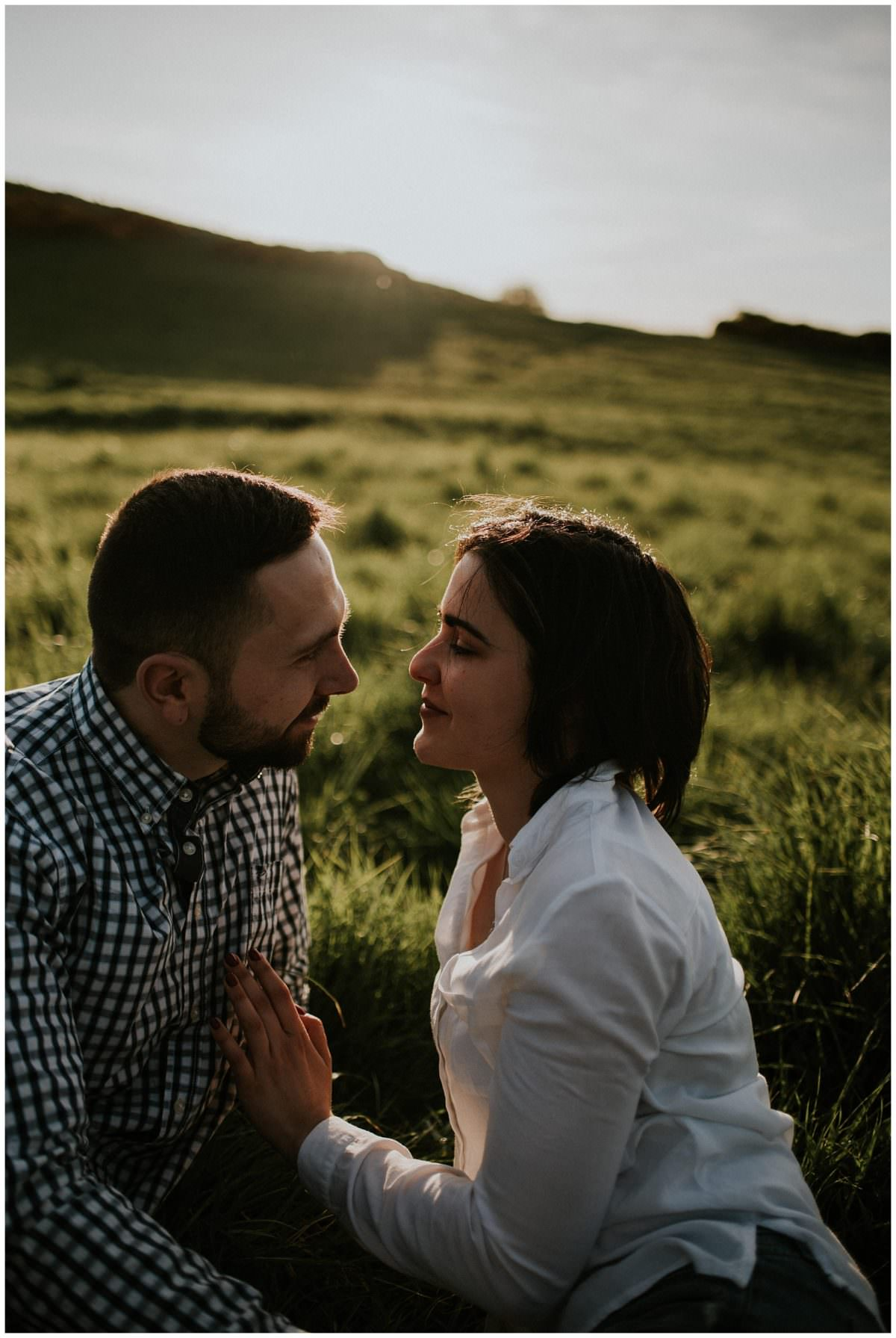 Arthur's Seat engagement photoshoot - Edinburgh photography