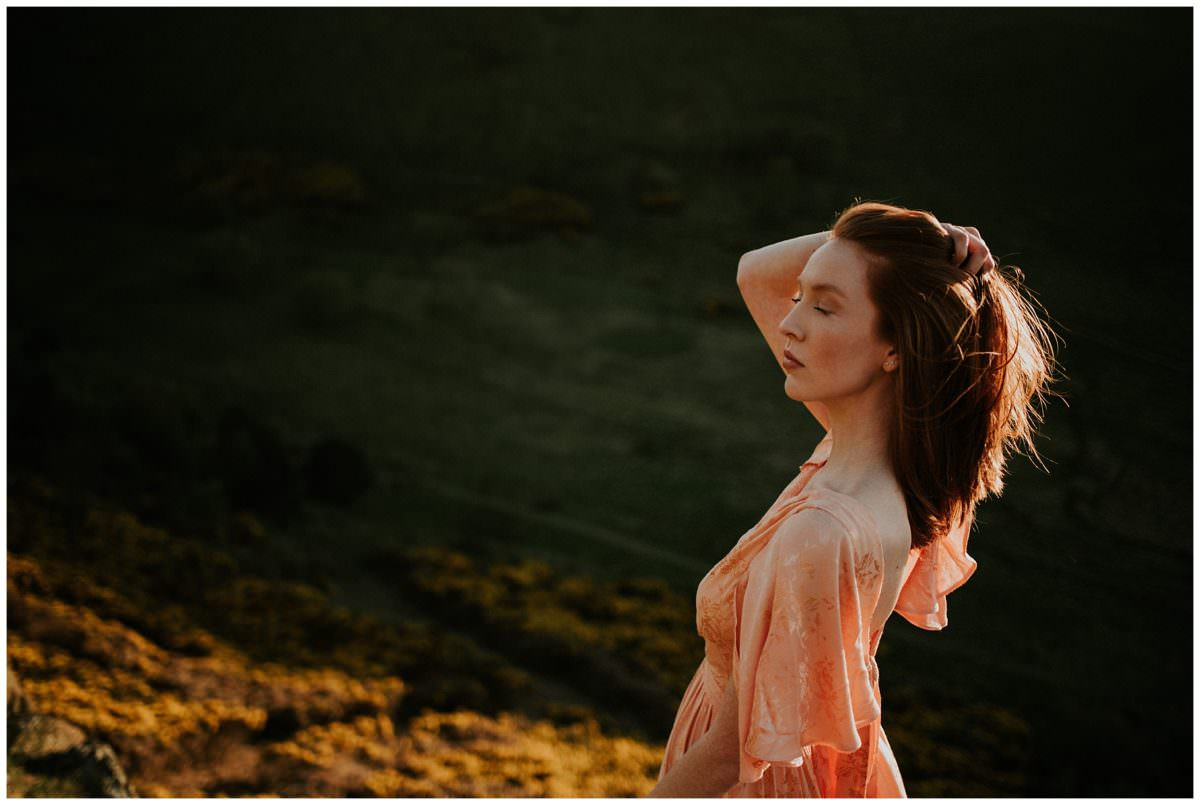 Edinburgh wedding photographer, Arthur's Seat photoshoot