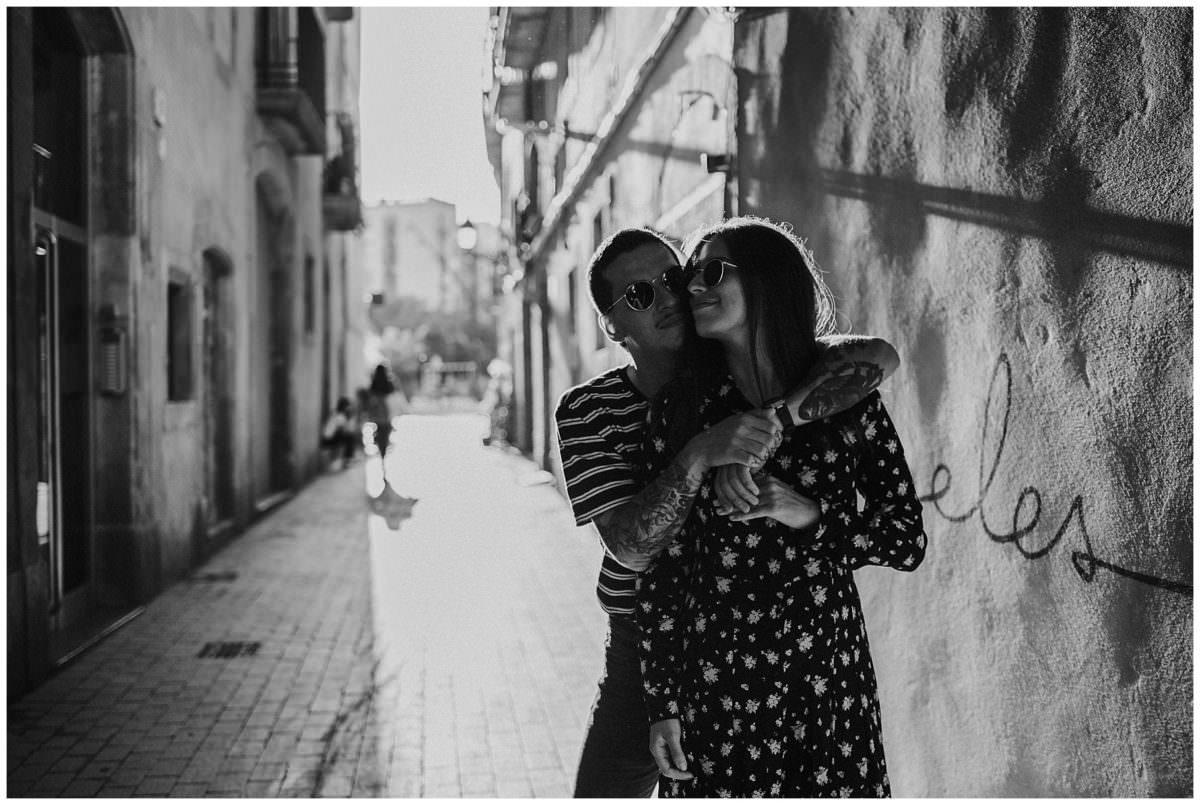 Barcelona engagement photoshoot - Barcelona wedding photographer