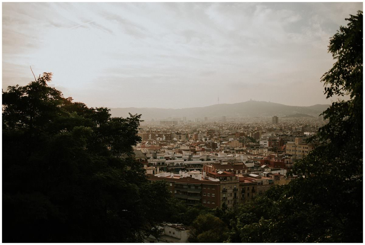 Parc de Montjuïc photoshoot Barcelona