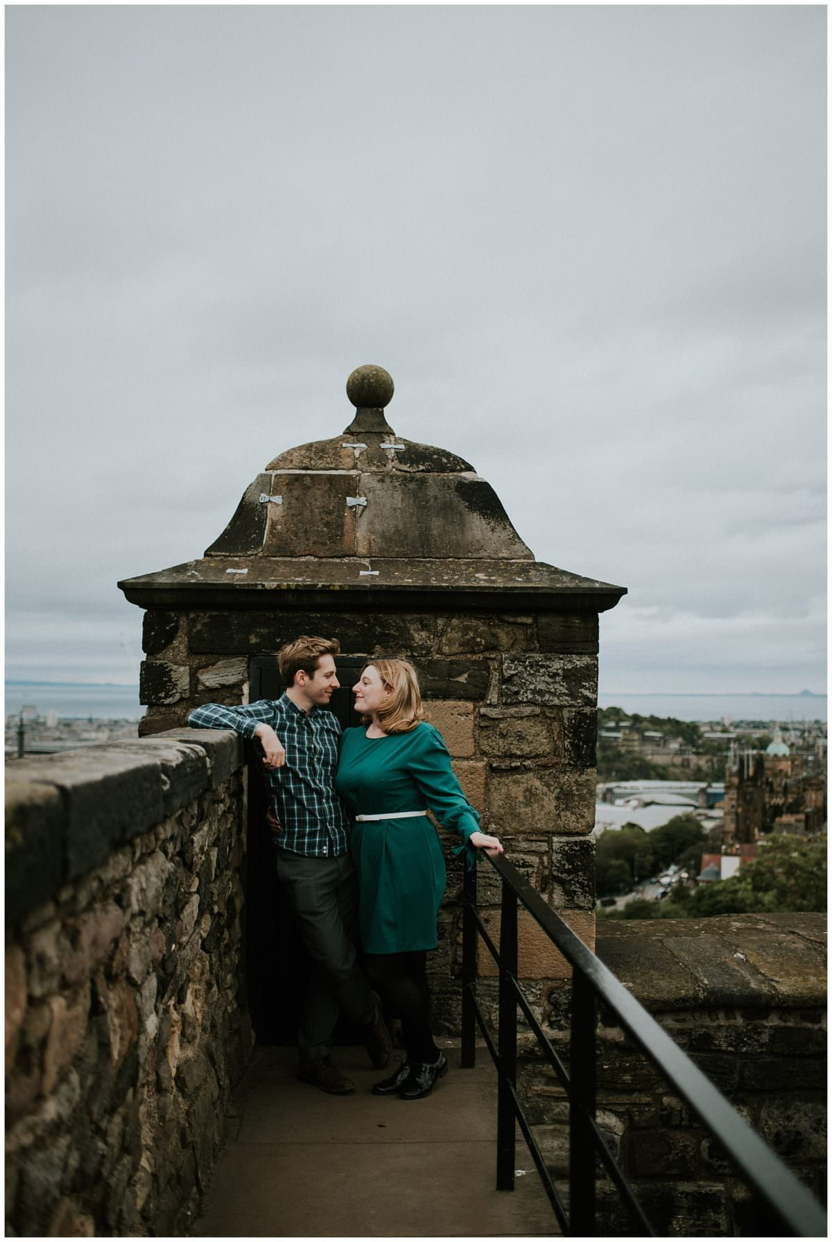 Secret proposal at Edinburgh Castle