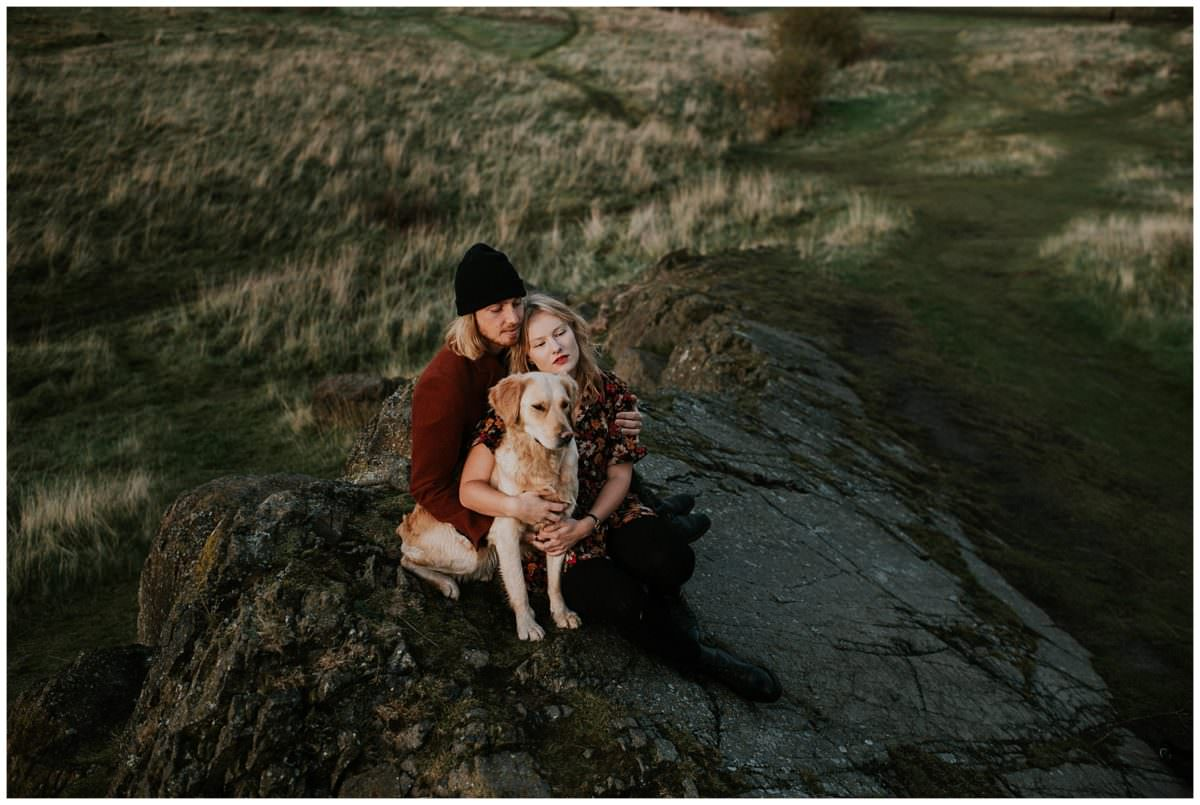 Arthur's Seat - Edinburgh Scotland wedding photographer