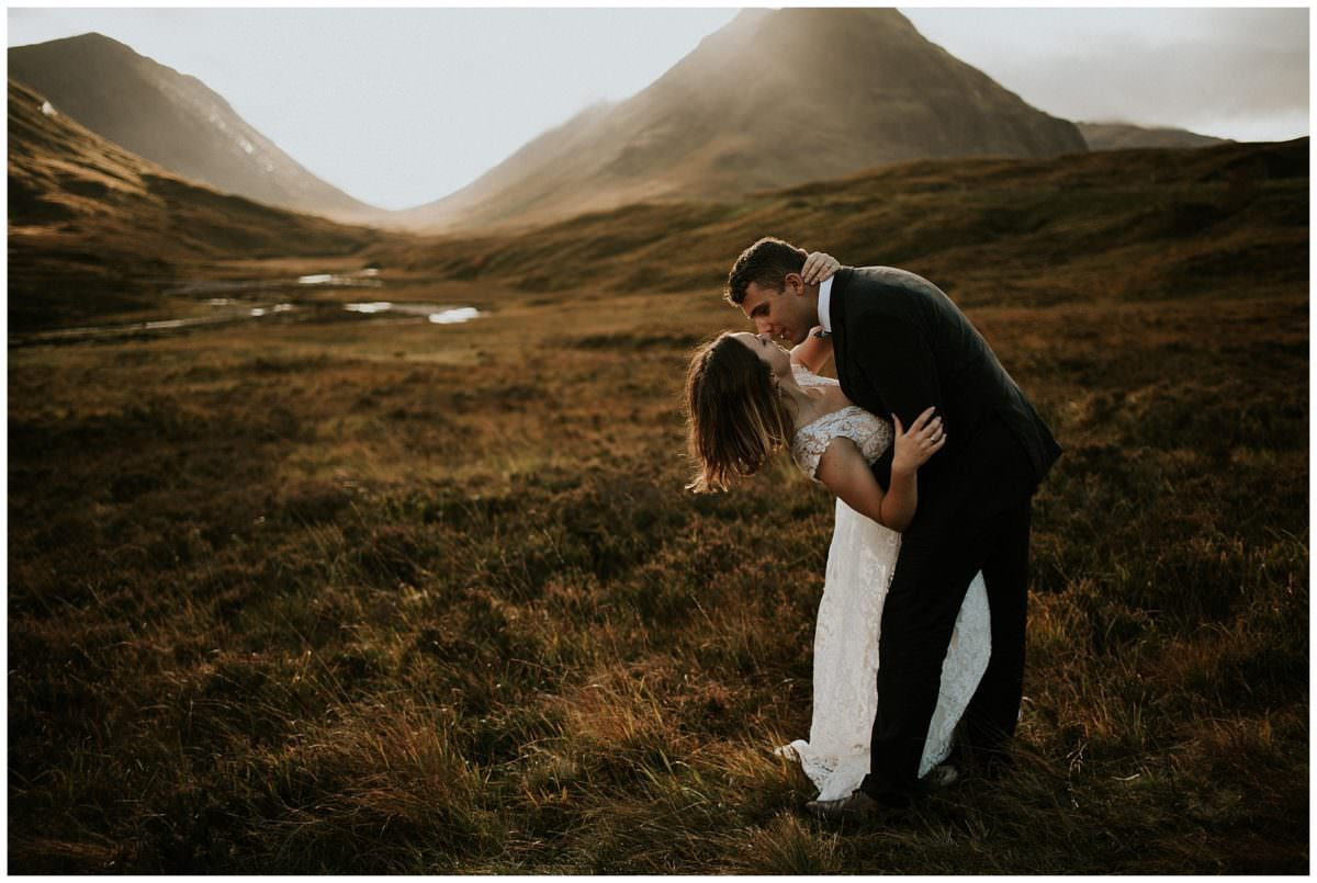 Glencoe - Scottish highlands wedding photographer