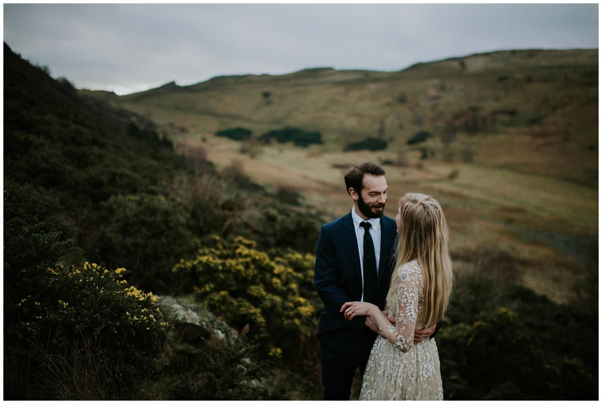 Scottish highlands elopement - Edinburgh photographer