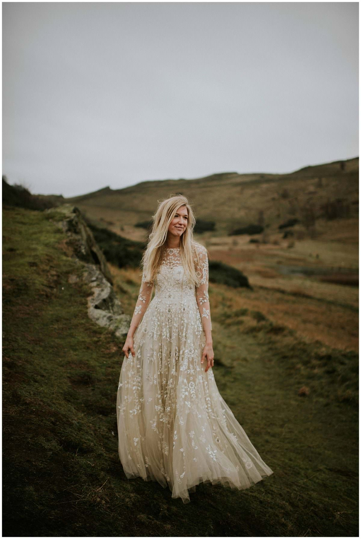 Arthur's Seat - Edinburgh elopement photographer