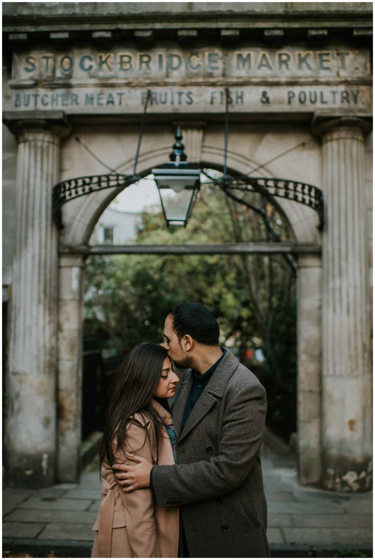 Secret proposal Stockbridge - Edinburgh photographer
