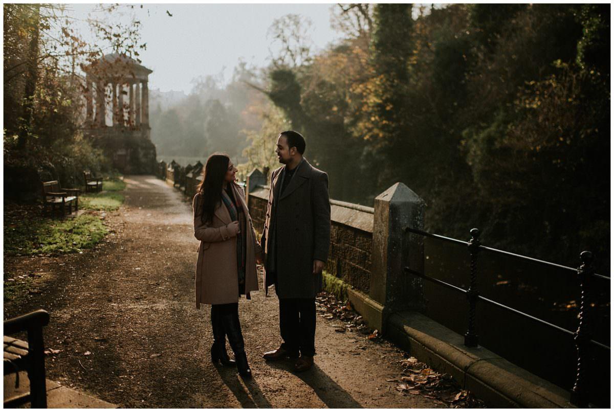 Secret proposal Stockbridge - Edinburgh photographer