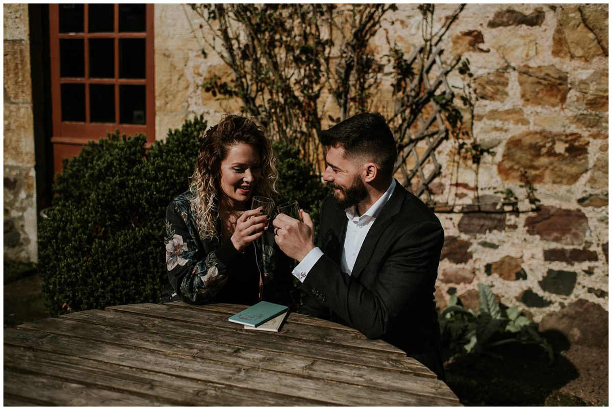 Edinburgh wedding photography - Pentland Hills