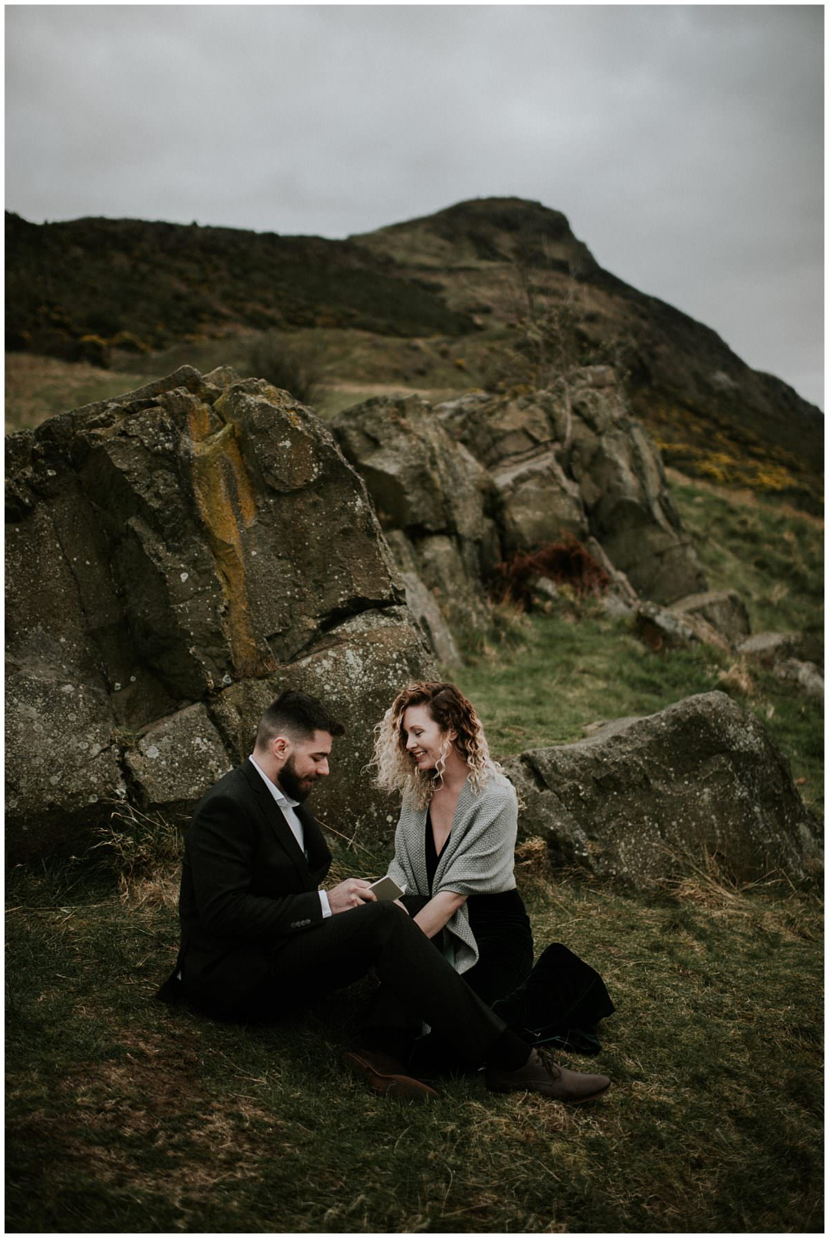 Edinburgh Pentland Hills elopement