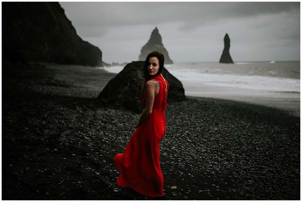 Reynisfjara photoshoot - Iceland