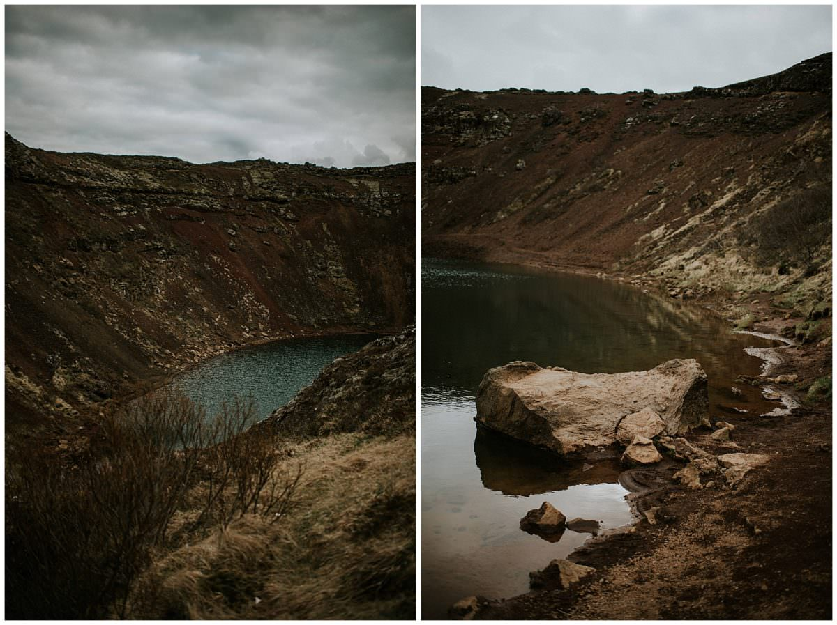 Crater in Iceland - Iceland photographer