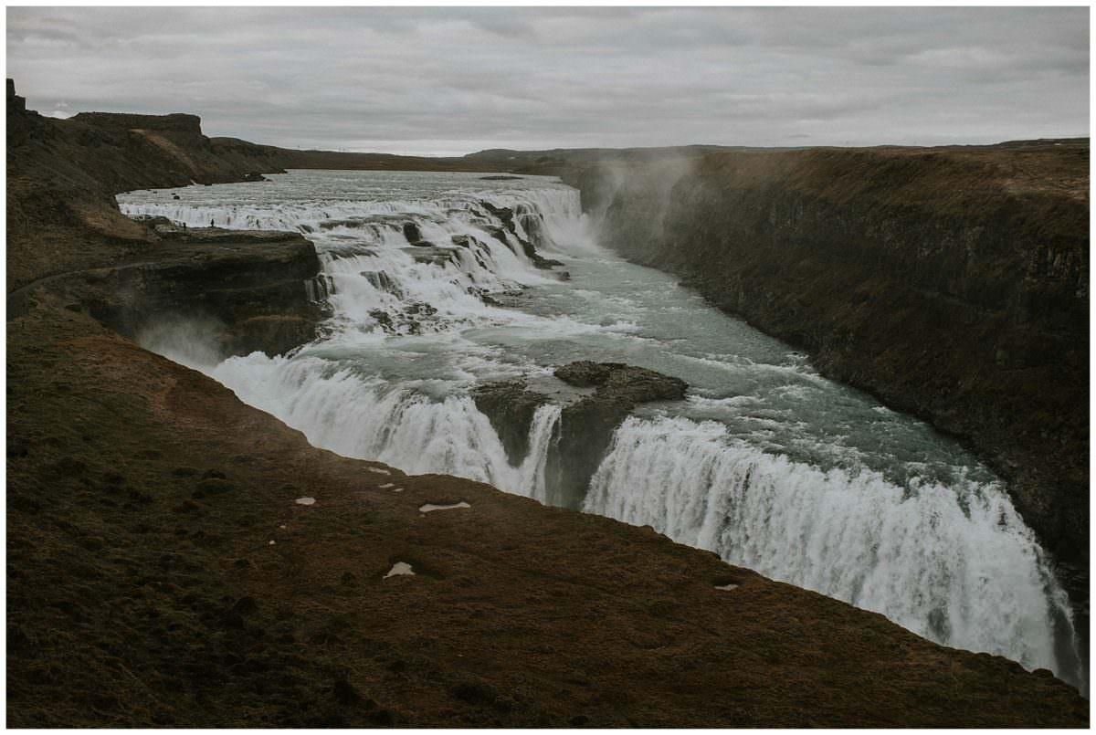 Gulfoss - Iceland waterfalls