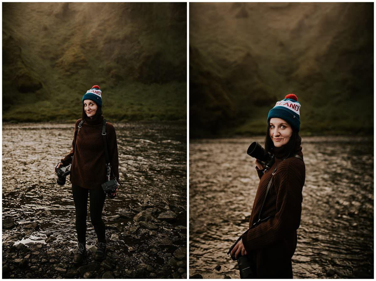 Iceland Skógafoss photoshoot