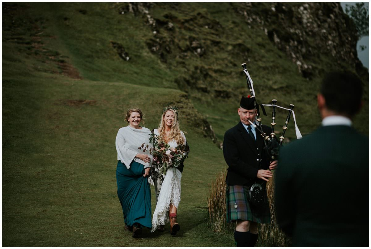 Isle of Skye elopement - Scotland wedding photographer