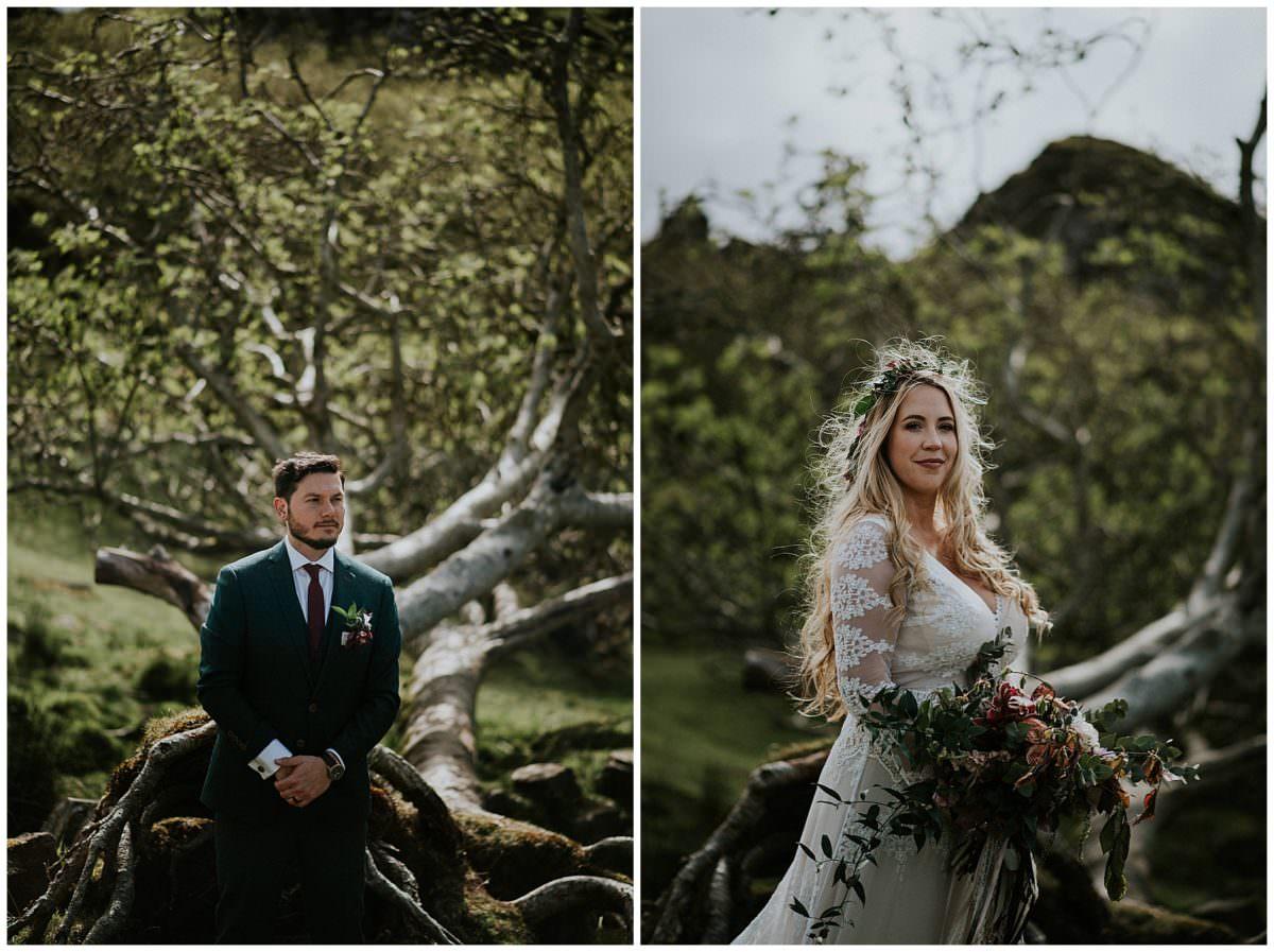 Isle of Skye elopement - Scotland wedding photographer