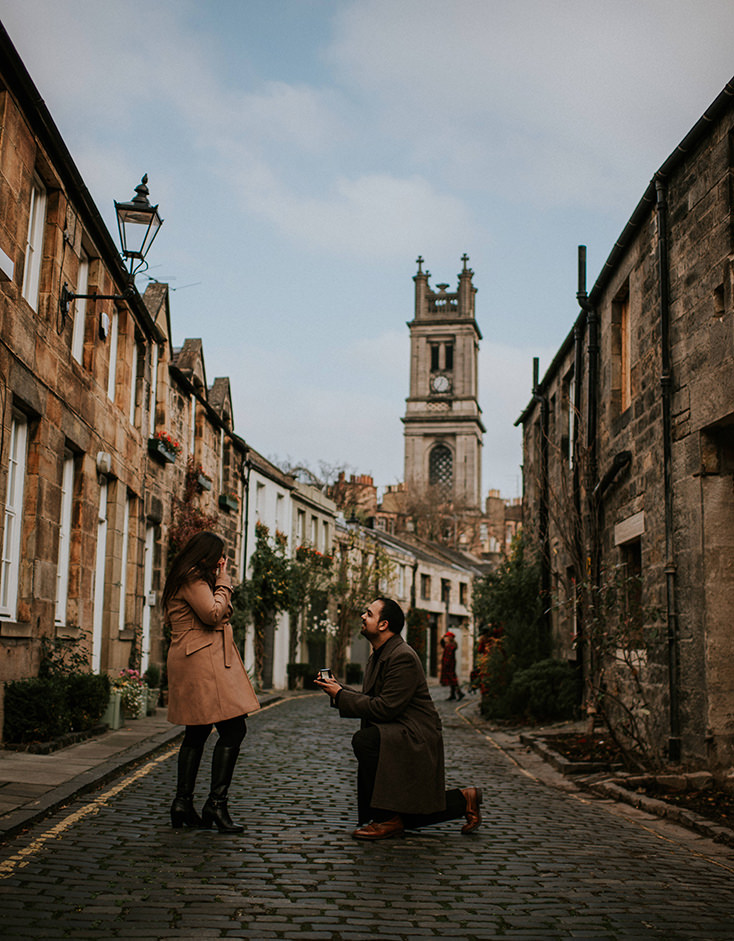 Edinburgh secret proposal - Edinburgh photographer