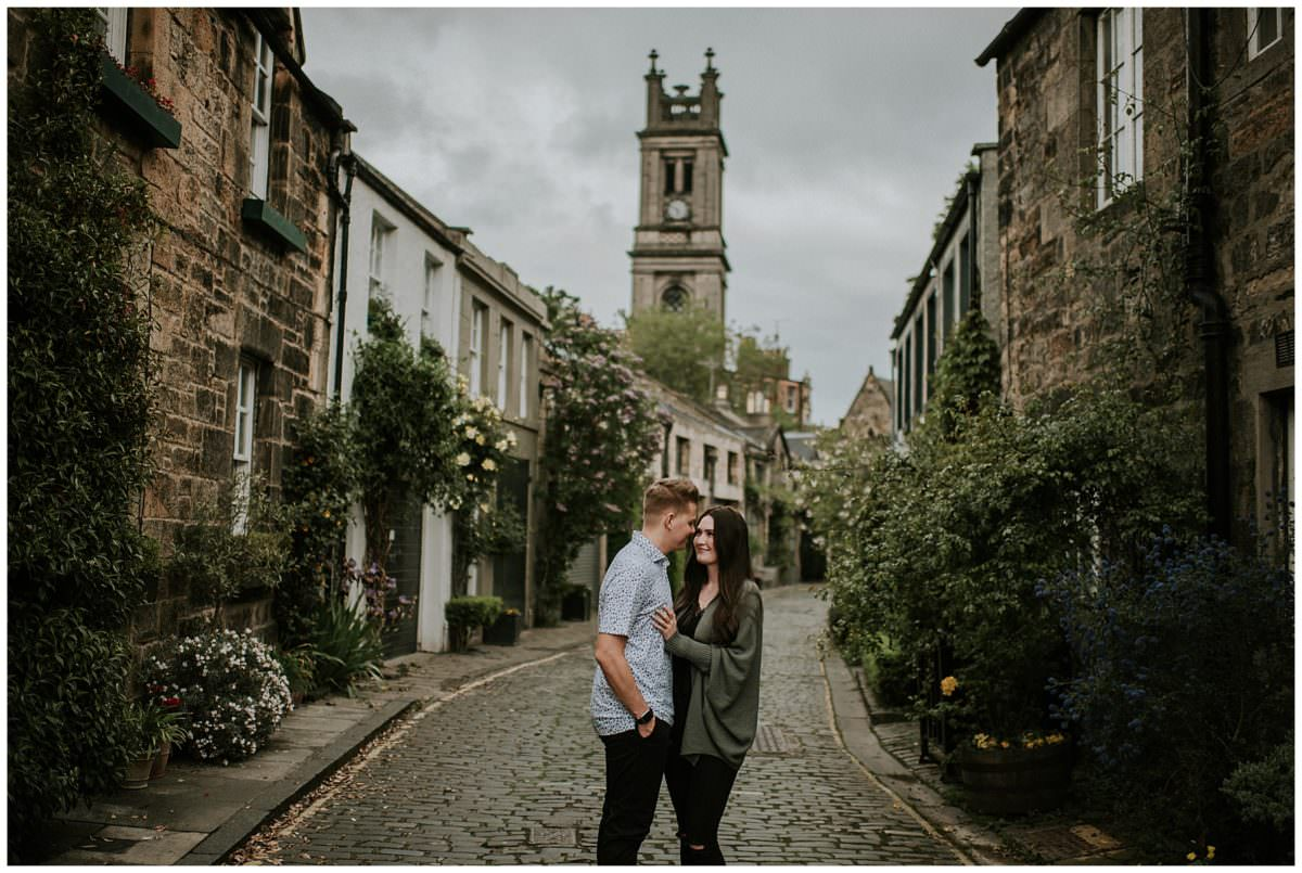 Edinburgh secret proposal - photographer Edinburgh Scotland