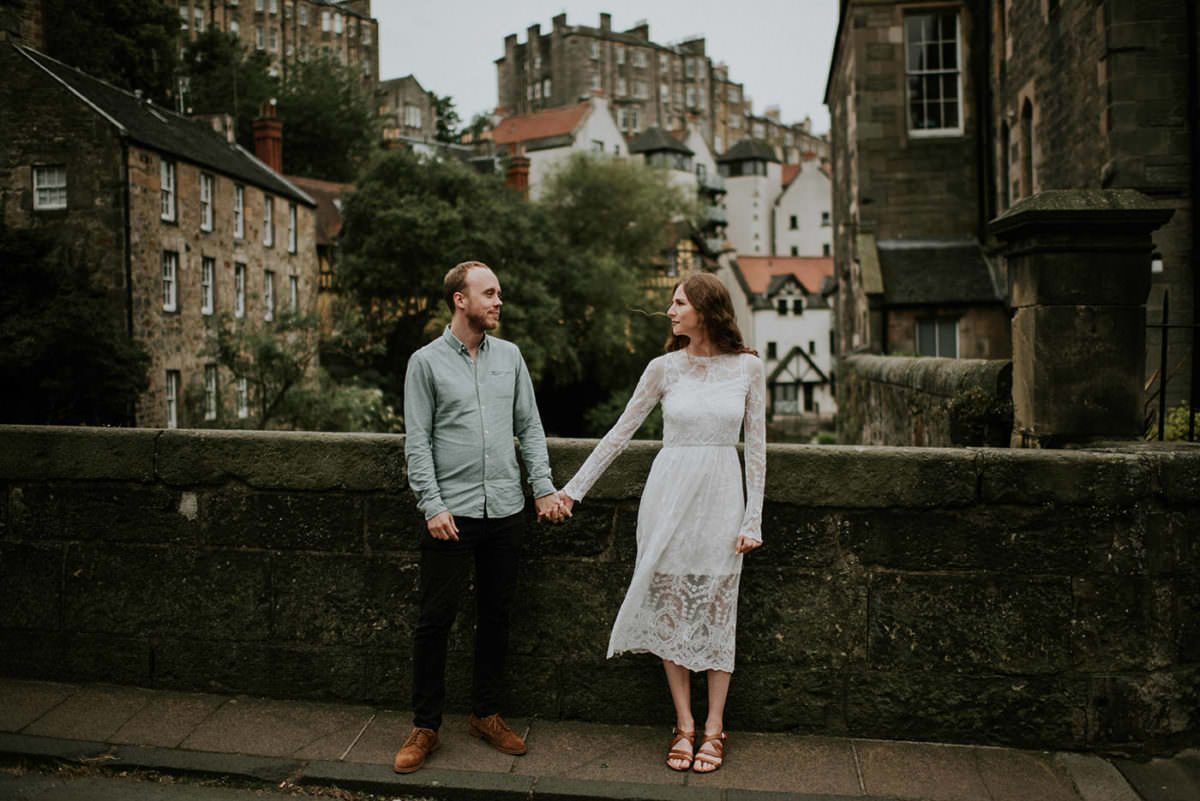 Dean Village photoshoot, Edinburgh Scotland