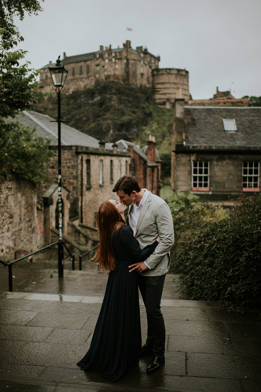 Edinburgh Castle - best photoshoot locations in Edinburgh, Scotland