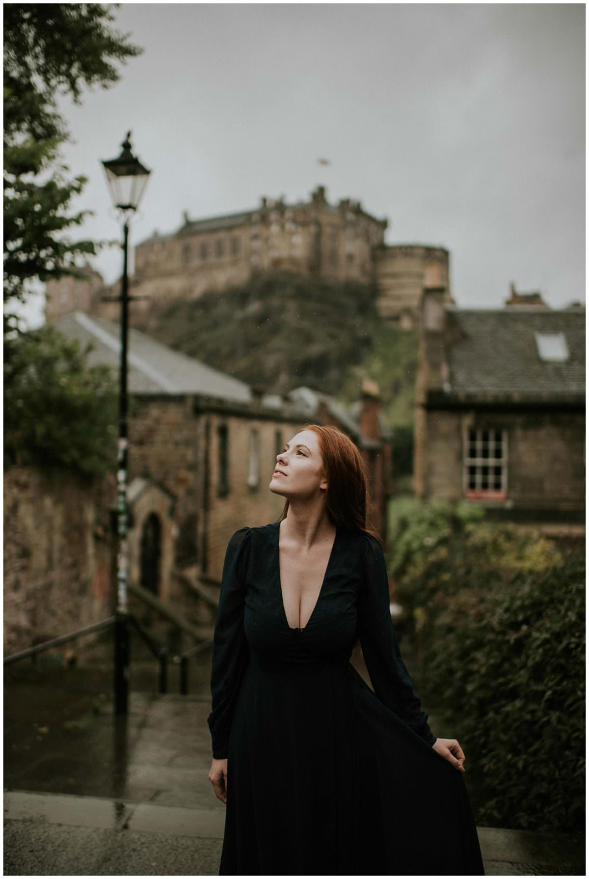 Edinburgh Castle photoshoot - Edinburgh wedding photographer