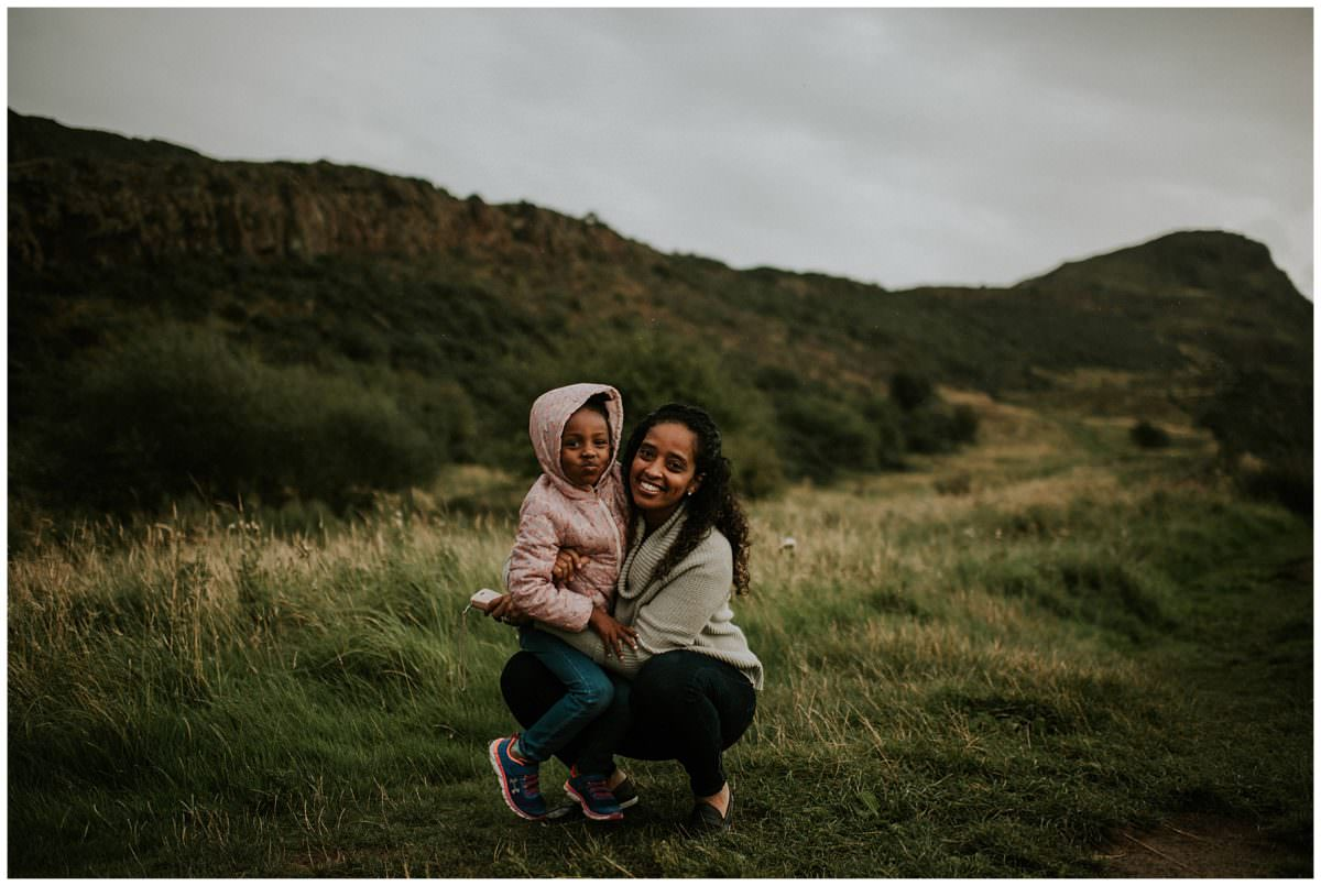 Holyrood Park Edinburgh family photography - Edinburgh family photographer