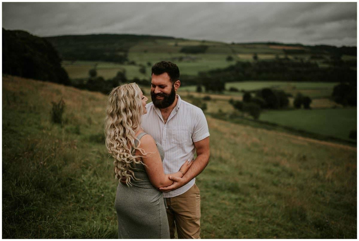 Peak District engagement photoshoot - Peak District photographer