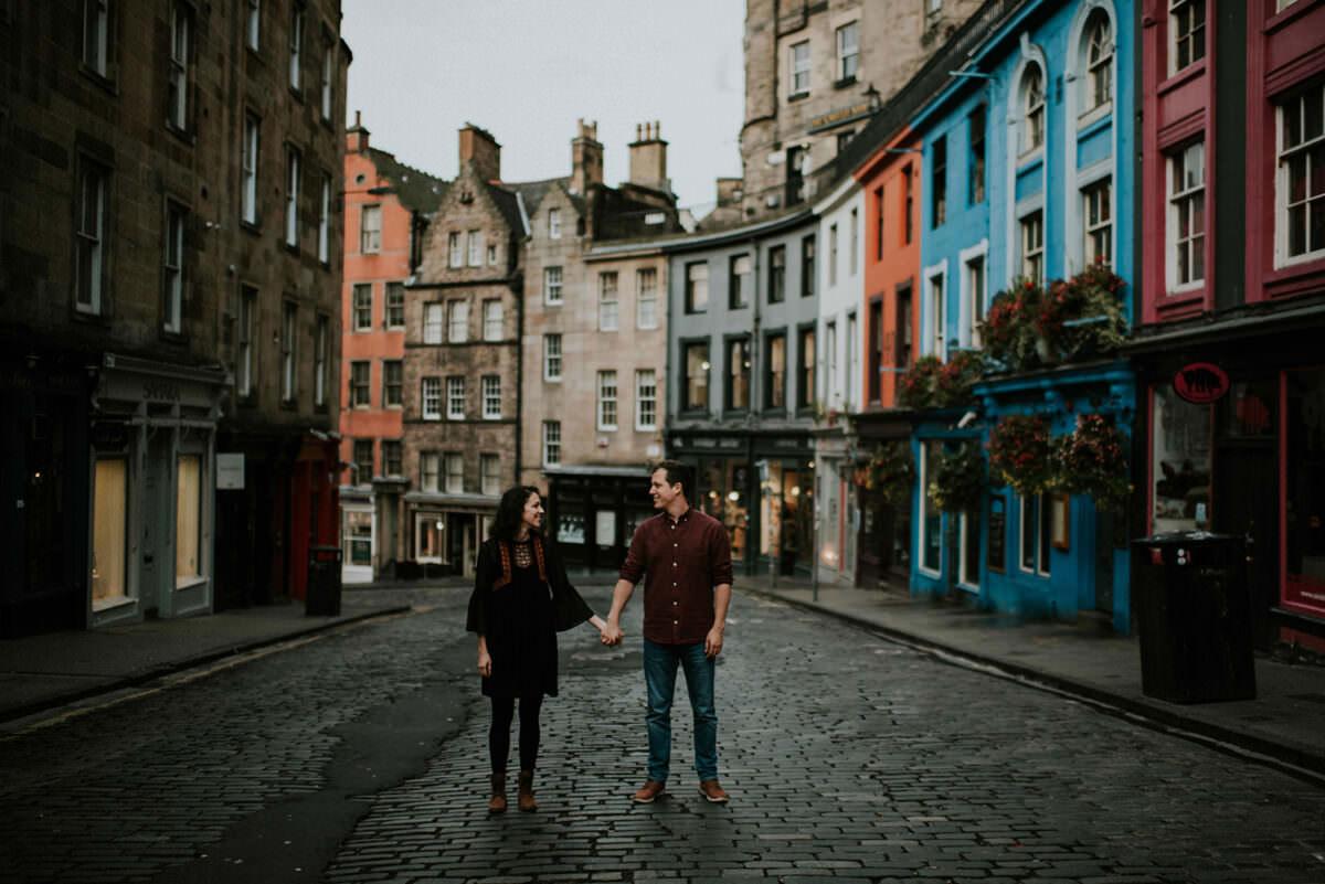 Victoria Street - top Edinburgh photo locations