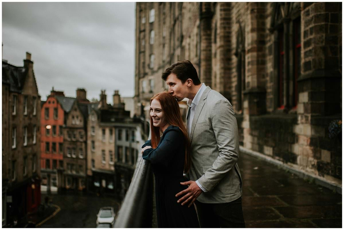 Victoria Street photoshoot - Edinburgh wedding photographer