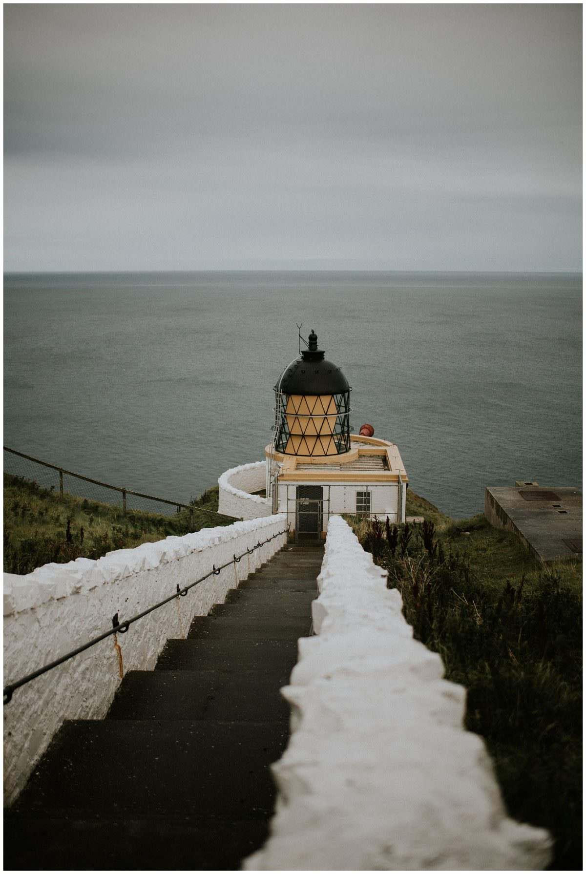 Lighthouse in St Abbs in the Scottish Borders - Edinburgh Scotland photographer