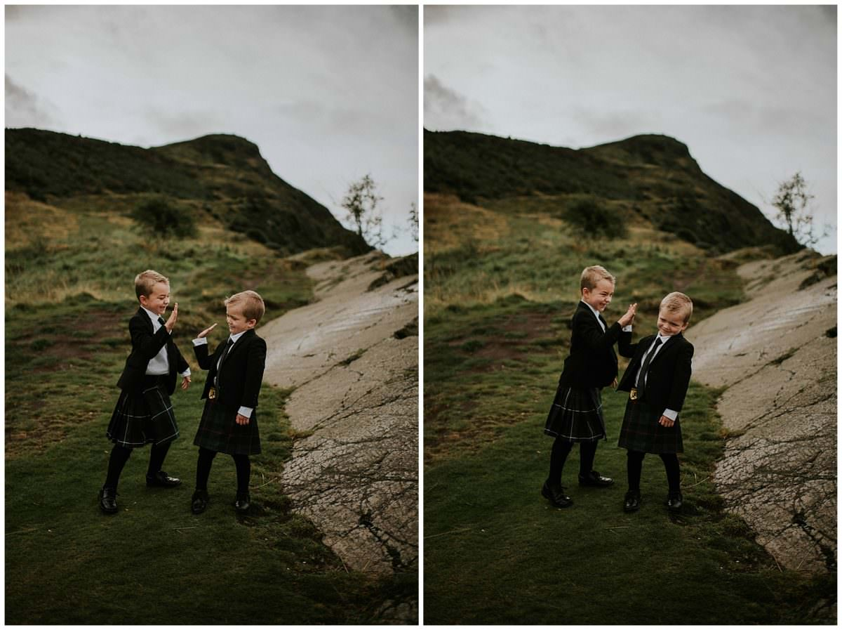 Scotland family photography session - Edinburgh family photographer