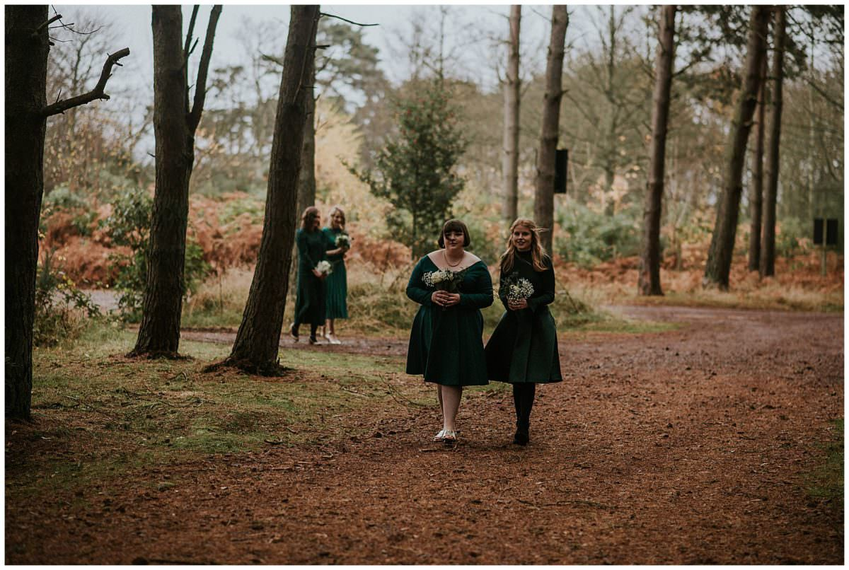 Forest wedding in Scotland - Scotland photographer
