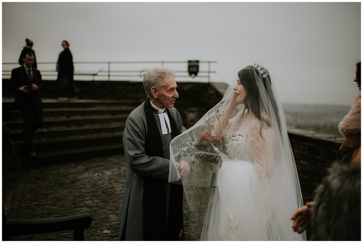 Edinburgh Castle wedding - Scotland wedding photographer