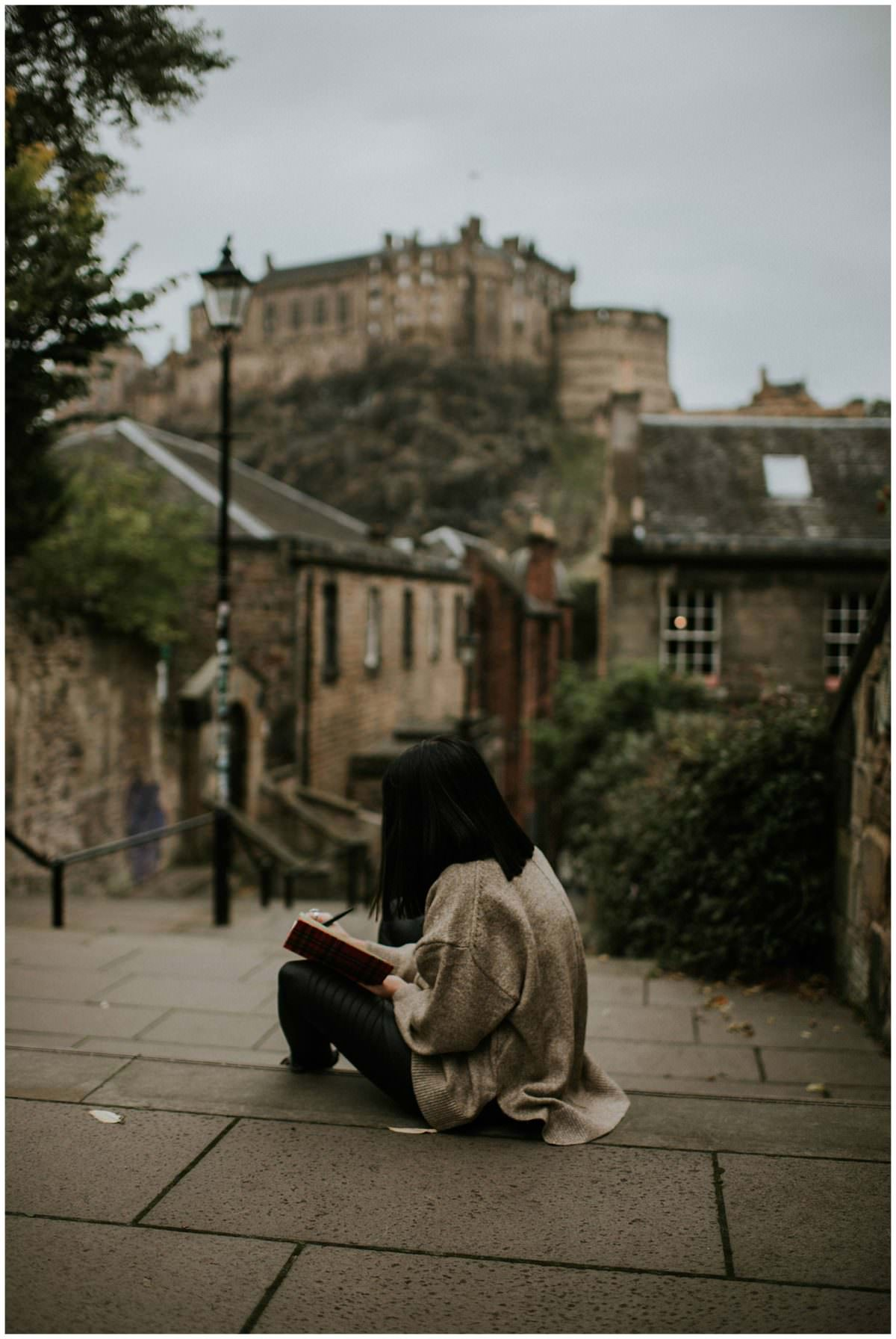 Edinburgh portrait session - Scottish photographer Edinburgh