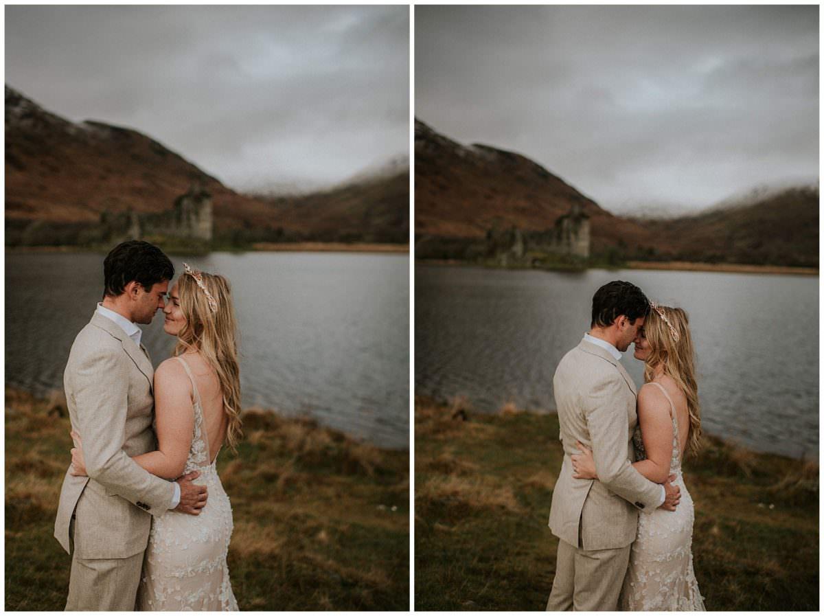 Kilchurn Castle elopement - Scottish elopement photographer