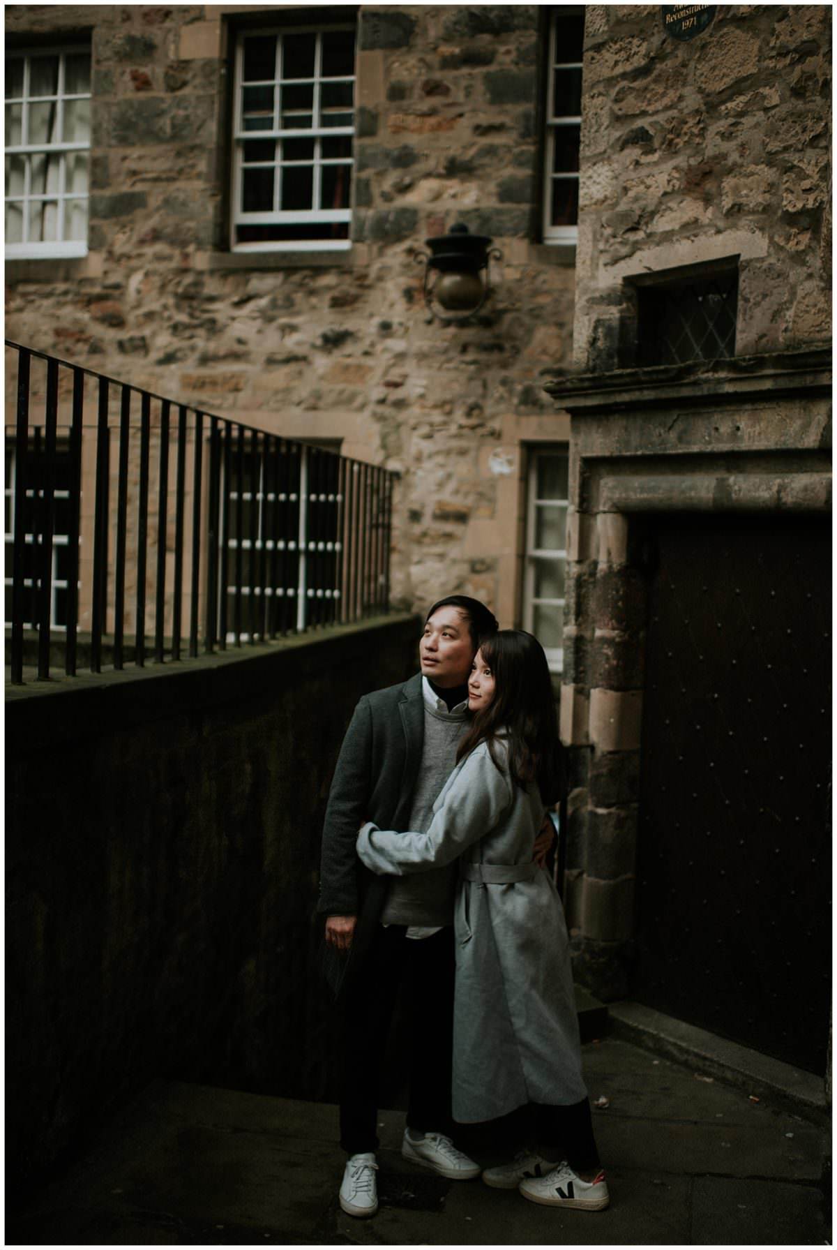 Edinburgh Scotland engagement photos - Scottish wedding photographer