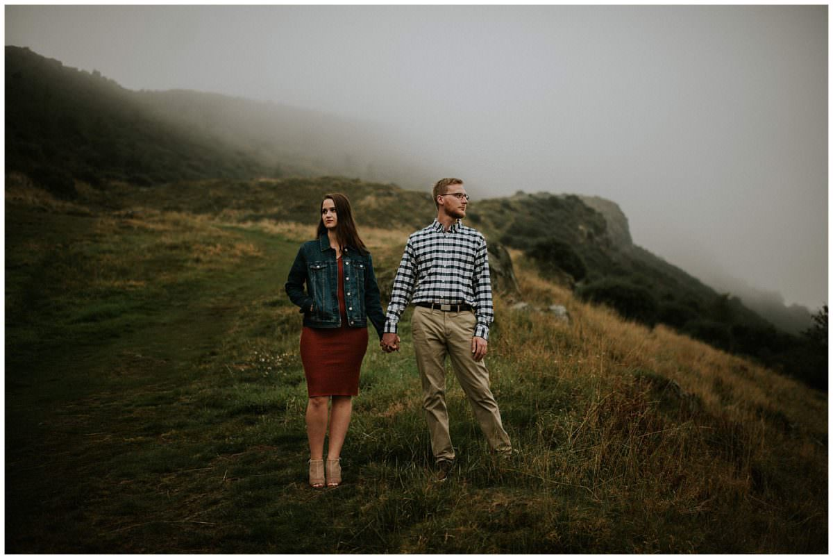 Pre-wedding photography session Scotland - Scotland wedding photography