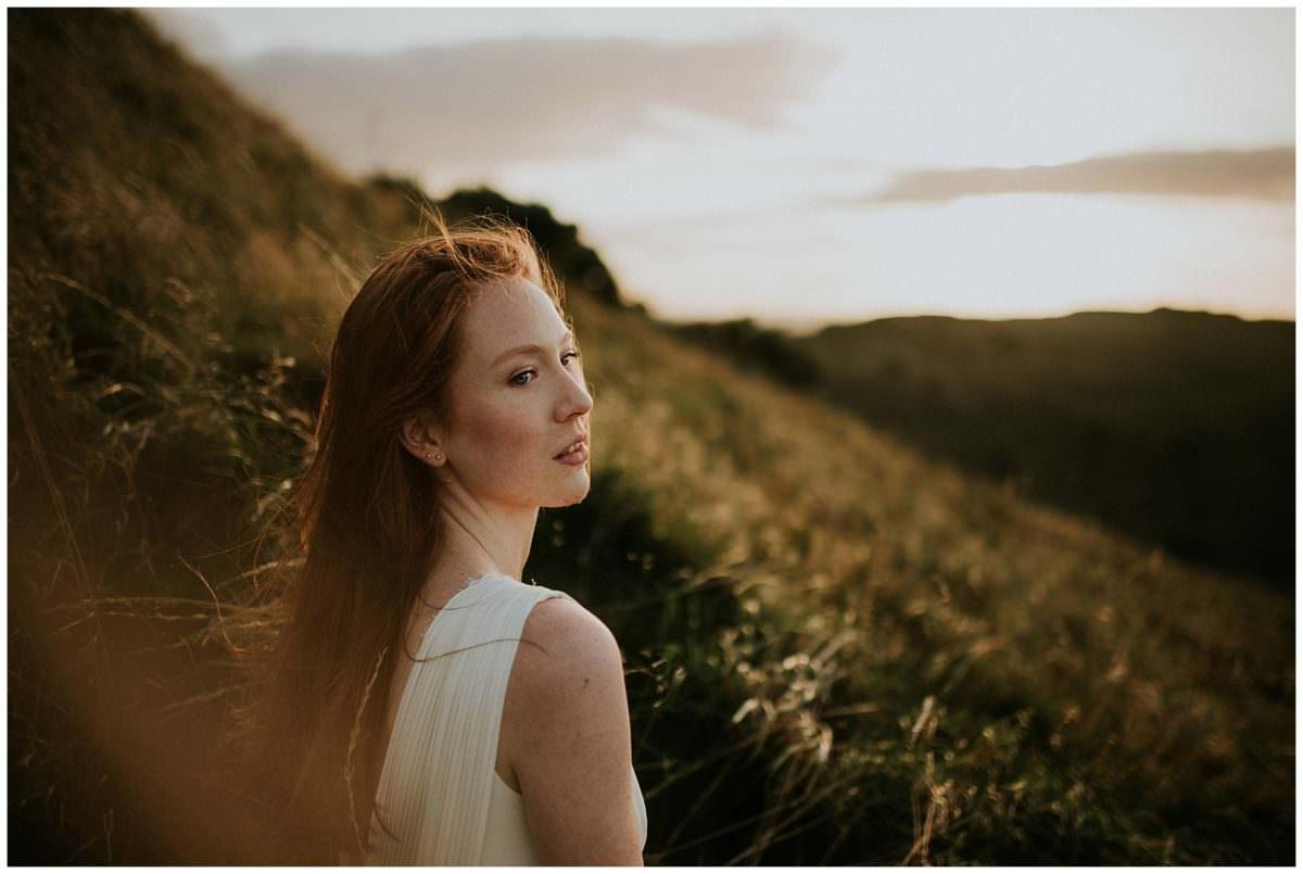 Scotland portrait photoshoot in Holyrood Park - Scotland photographer