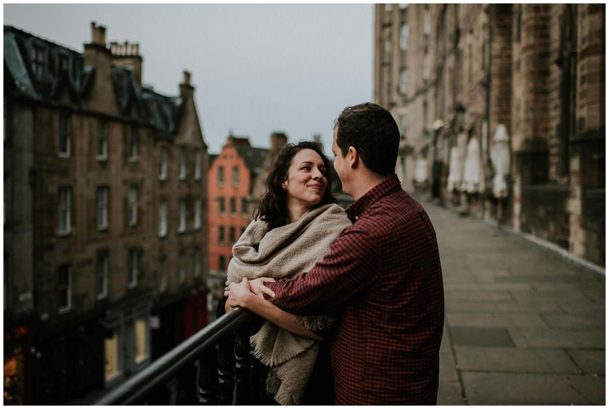Edinburgh engagement photography - Scotland wedding photographers