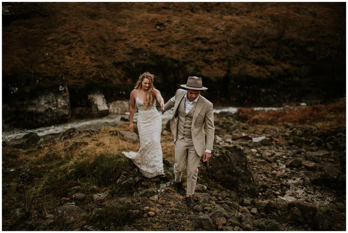 Scottish highlands wedding - wedding and elopement photographer Scotland