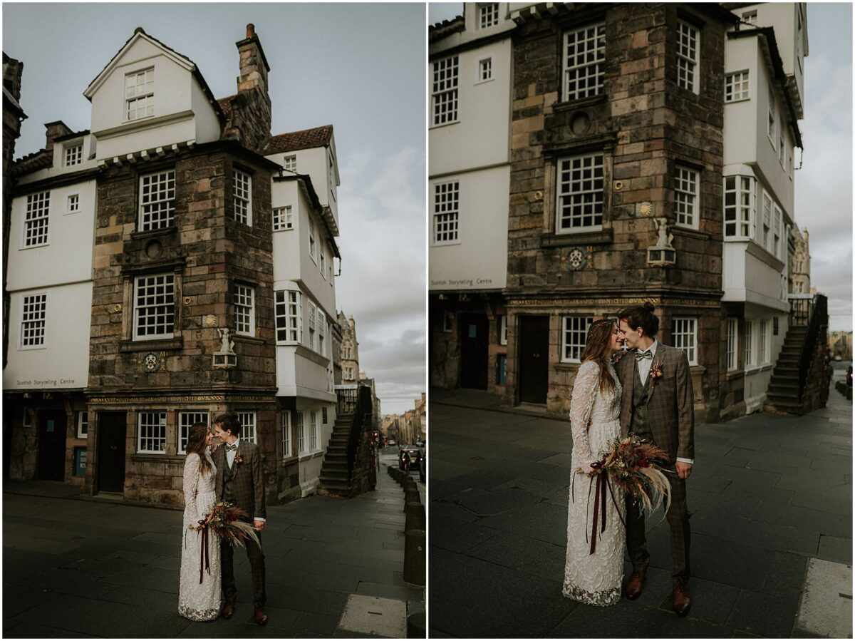 Edinburgh City Chambers wedding - Edinburgh elopement photographer