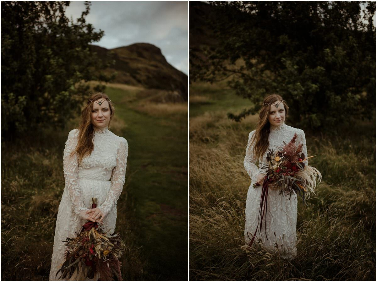 Edinburgh elopement - Scotland elopement photography