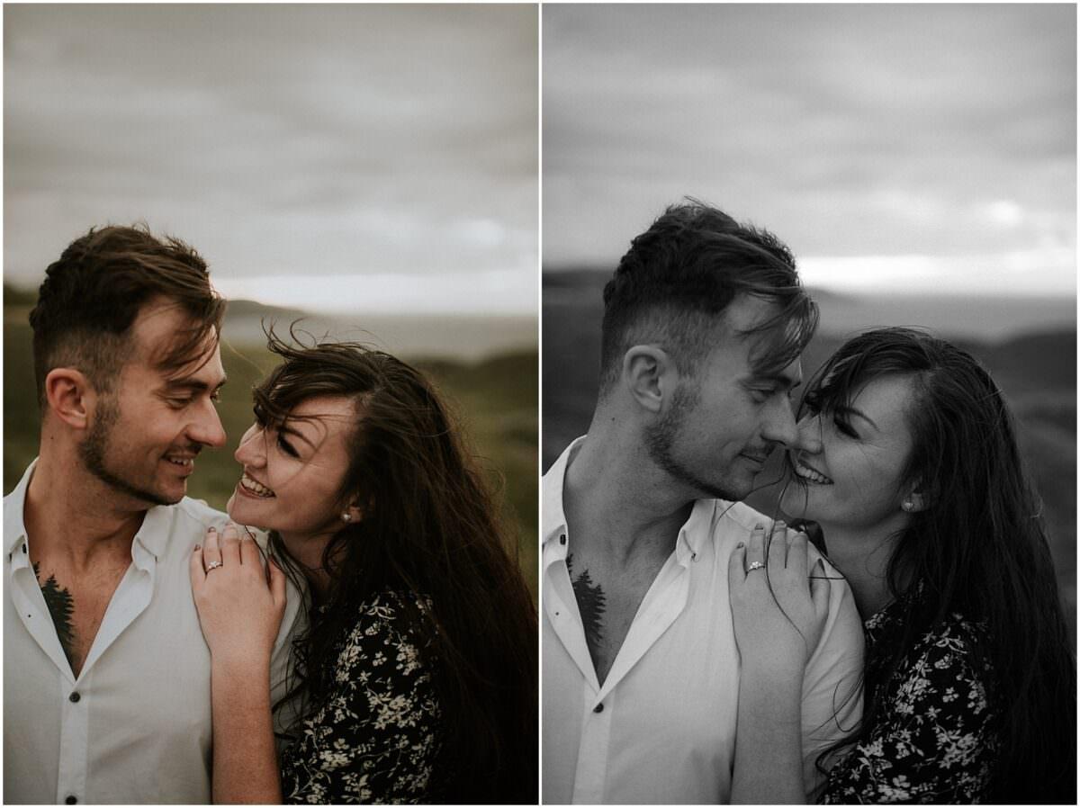 Secret proposal in Scotland - Edinburgh engagement photographer