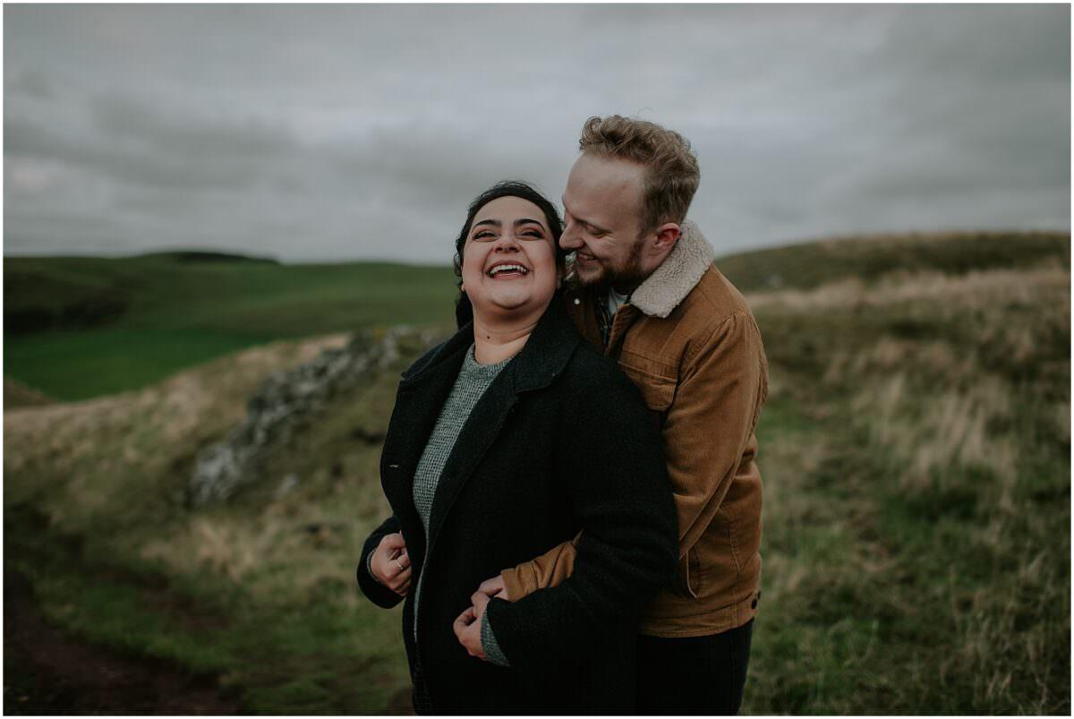 Scotland engagement photos - Edinburgh engagement photographer