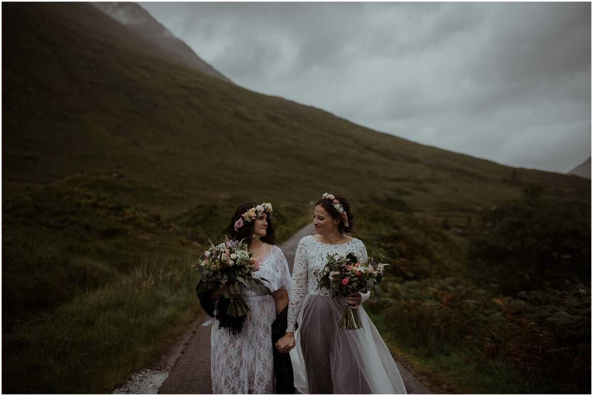 Same-sex wedding in Scotland - Scotland elopement photographer